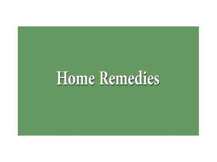 Pollen Allergy Top Home Remedies