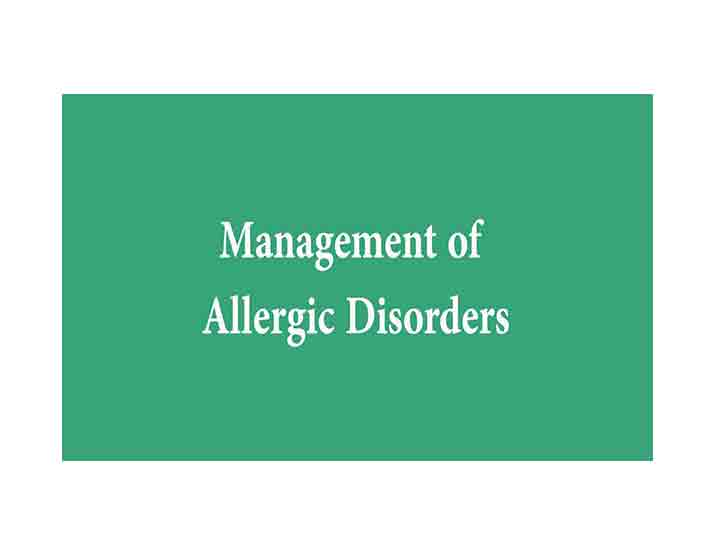 allergy management