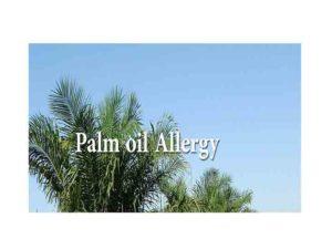 Palm oil Allergy